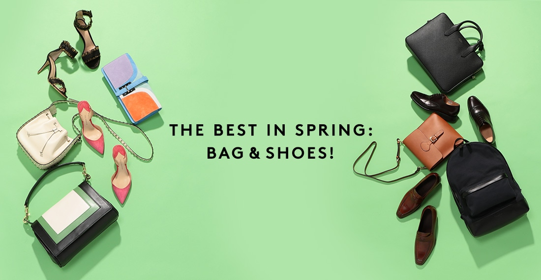THE BEST IN SPRING: BAG & SHOES!