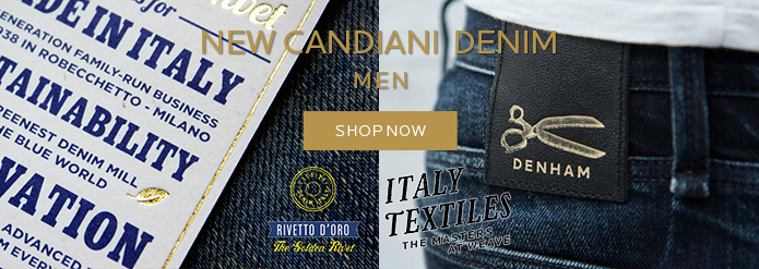 NEW CANDIANI DENIM