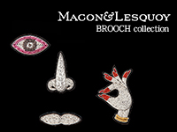 MACON&LESQUOY BROOCH collection
