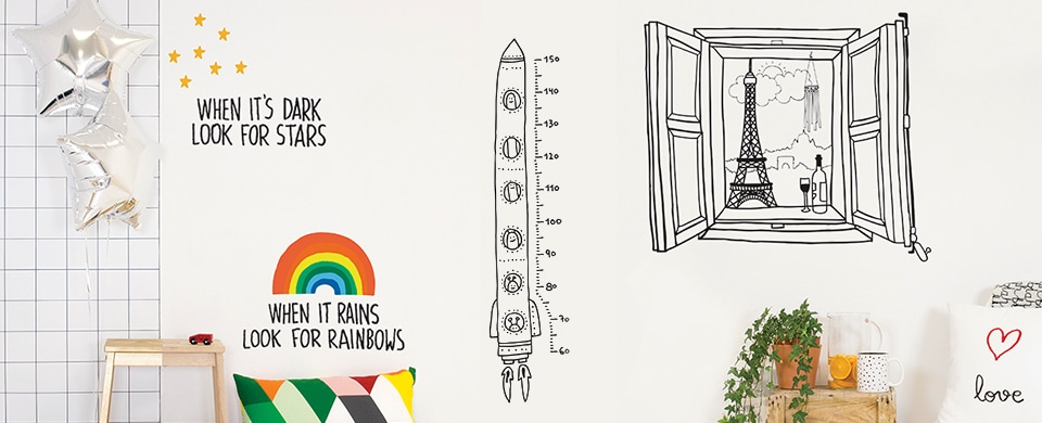 """チスパム・スペイン・バルセロナのデザインスタジオ""""STUDIO JAVIRROYO""""がプロデュースしたウォールステッカーのブランド"""