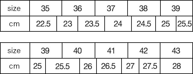 733ff3b230 正しいサイズとフィッティングについて サンダルなどのサイズの決め方 ...