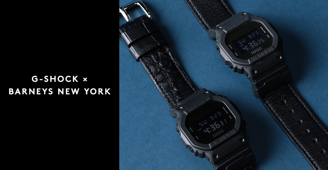 G-SHOCK×BARNEYS NEW YORK