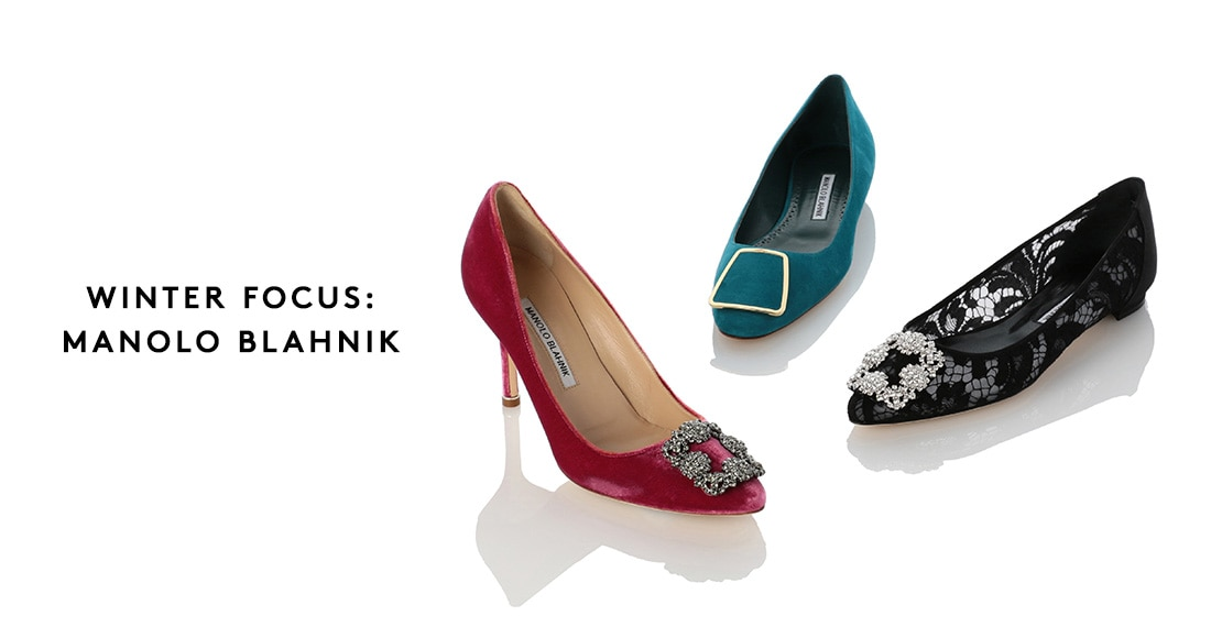 WINTER FOCUS: MANOLO BLAHNIK