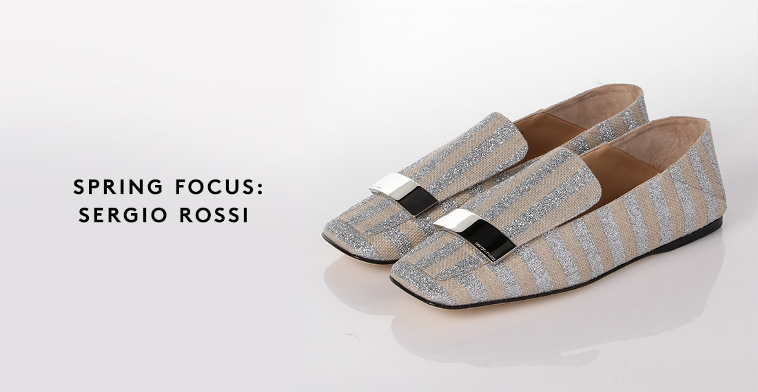 c2a1d1436a9a 特集|SPRING FOCUS: SERGIO ROSSI | BARNEYS NEW YORK ONLINE STORE ...